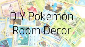 Pokemon Bedroom Decor Diy Pokemon Room Decor Youtube