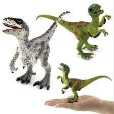 juric world dinosaur park toys model evolutions velociraptor bruce pvc mandible movable action figure dinosaurs gifts