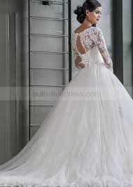 Wedding Dress Corset Back With Sleeves