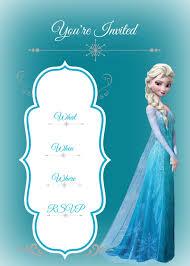 Frozen Birthday Invitations Frozen Birthday Party Busy Moms Helper