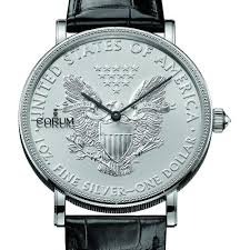 top 10 best corum watches reviews tried and tested for you corum men s silver coin 50th anniversary limited edition 43mm crocodile leather band automatic watch 082 645