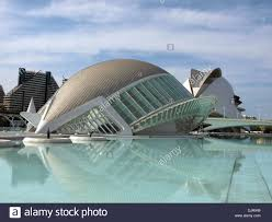 Dome shaped building. Modern european architecture