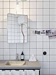 white square tile bathroom.  White To Da Loos Bathrooms With White Square Tiles And Dark Grout Lines And White Square Tile Bathroom L