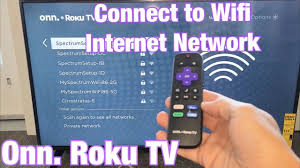 Roku won't connect to wifi. Onn Roku Tv How To Connect To Wifi Internet Network Youtube