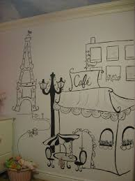 wall art ideas design hand drawn paris themed wall art dining room decoration accents party ideas cafe bulding umbrella stripes designs awesome paris  on cafe wall art design with wall art ideas design hand drawn paris themed wall art dining room