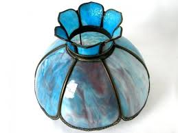 medium size of blue stained glass lamp shade shades uk ikea beautiful antique slag 6 panel