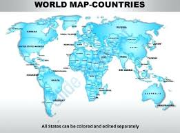 7 Continents World Map And Their Countries Magicfantasy Info