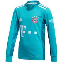 Pes 2021 add p4 kit maradona + fix white kits. Bayern Munich Kids Home Goalkeeper Shirt 2020 21 Official Adidas Product