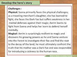 how to write a credible fantasy story examples wikihow image titled write a credible fantasy story step 18