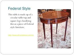furniture style guide. Furniture Styles 4 Federal Style Guide