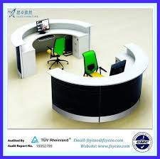 round office desks. small round office table circular desk reception suppliers and manufacturers desks