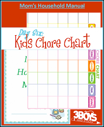 Household Chores Roster Chore Charts For Kids They Work Like Magic