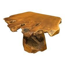 java coffee table java teak root wood coffee tree table pedestal trunk base java coffee table