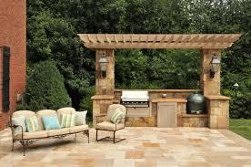 ... Best Outdoor Kitchen Patio Designs Tips For Simple Outdoor Kitchen  Ideas Design Ideas Decor MakerLand ...