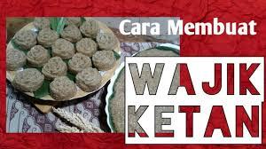 Beberapa makanan tradisional khas manado bahkan telah dikenal secara luas di berbagai wilayah indonesia lainnya. Resep Wajik Manado Buat Kue