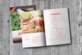002 Cookbook Template Free Psd Restaurant Menu Download
