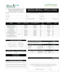 Application Form For Rental Free Room Rental Application Form Template Tenancy Tenant