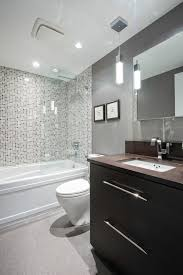 fresca bath bathroom contemporary with bathroom mirror bathroom vanity gray walls mosaic tile pendant lighting rain bathroom vanity mirror pendant lights glass