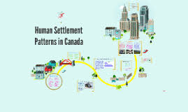 Settlement Patterns Gorgeous Human Settlement Patterns In Canada By Jessica Ou On Prezi