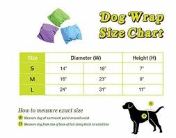 Dog Diaper Size Chart Details About Dog Diapers Male Dogs Washable Reusable Doggy Puppy Panties Absorbent 3 Pack