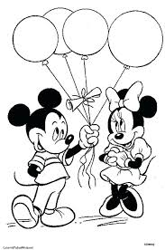 Minnie Mouse Coloring Pages Pdf Fancy Page Interesting Mickey And