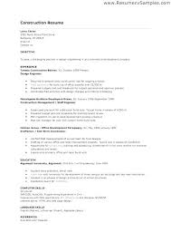 Construction Resume Sample New Sample Resume Construction Company Profile Format Template Best