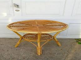 topic to best round wicker coffee table home design ideas rattan coc