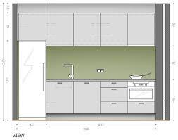 One Wall Kitchen One Wall Kitchen Layout