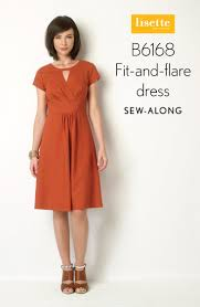 Fit And Flare Dress Pattern Awesome Sewalong B48 Fitandflare Dress Day 48 Blog Lisette