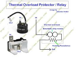 ptc relay wiring diagram ptc image wiring diagram what is overload protector and what is role of overload protector on ptc relay wiring diagram