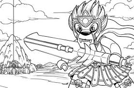 Small Picture Warrior Longtooth Fighting Style Lego Chima Coloring Pages Batch