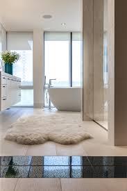 designer bath rugs bathroom contemporary with accent tile bath black