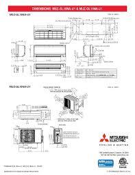 mitsubishi msz wiring diagram mitsubishi wiring diagrams
