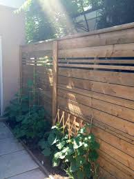 DIY Weekend Backyard Fence Project Storefront Life i like the