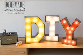Diy Vintage Leuchtbuchstaben Einfach Und Kostengünstig