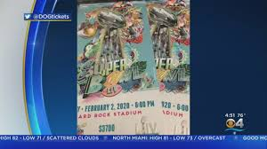 Super Bowl LIV Tickets Look Like ...
