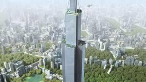 Risultati immagini per sky city cina