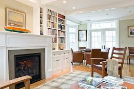 built in bookcases around fireplace built ins around fireplace living room traditional with ceiling built in