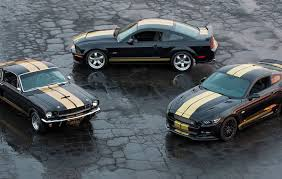 Hertz Has Revealed The 2016 Ford Mustang Shelby GT-H, A Custom Pony Built  For Car Rental Company. The Celebrates 50th Anniversary Of GT350-H ... U