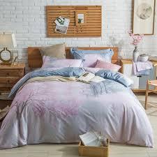 100 cotton bedlinen queen king size bedding set cherry blossoms