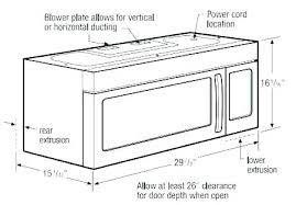 standard microwave size. Interesting Size Microwave Depths Sizes Under Cabinet Dimensions Upper  Oven Standard Size Typical Image Gallery Built With Standard Microwave Size R