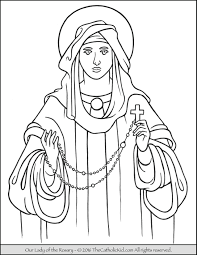 Small Picture Mary Archives The Catholic Kid Catholic Coloring Pages and