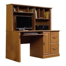 sauder orchard hills transitional ina oak computer desk