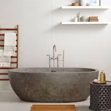 avalon inch freestanding soaking tub  native trails