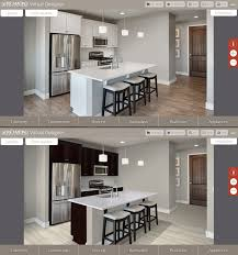 a virtual design tool that realistically presents flooring cabinetry countertops backsplashes and other home design elements in place was launched by