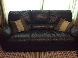 3 piece leather suite in corstorphine