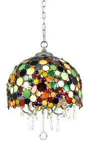 colored glass chandelier multi coloured chandeliers pendant shades uk