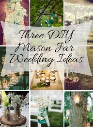 Mason Jar Decorations For A Wedding Mason Jar DIY Wedding Ideas Michelle James Designs 76