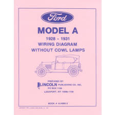 ford ford 1928 31 model a electrical wiring diagram out 1928 31 model a electrical wiring diagram out cowl lamps