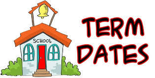 Image result for 2018-2019 term dates